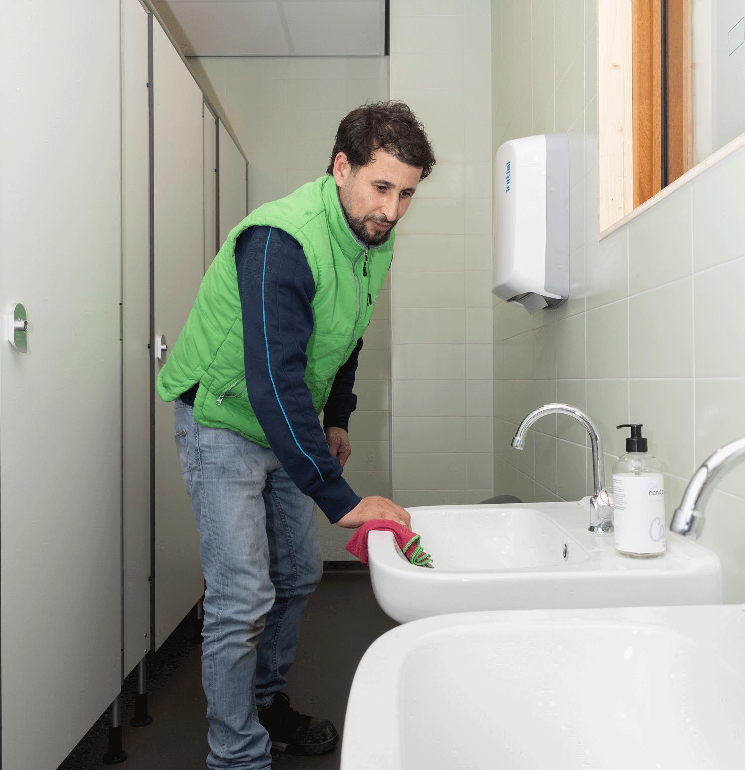 Sanitair reiniging HBM Facilities
